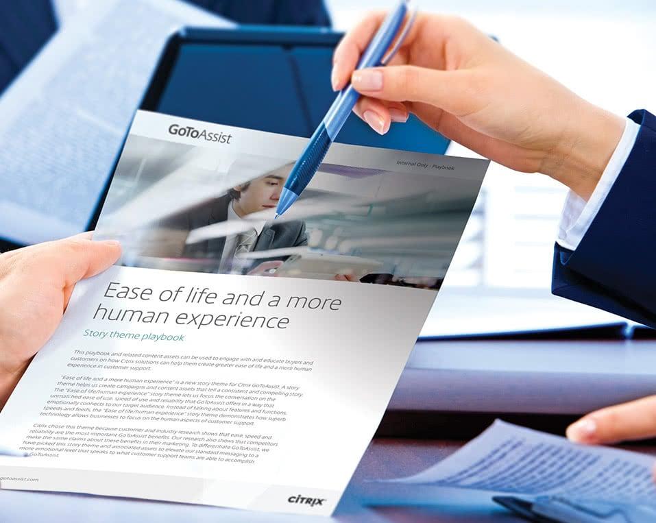 Case Study: Citrix Go To Assist - B2B Marketing Agency