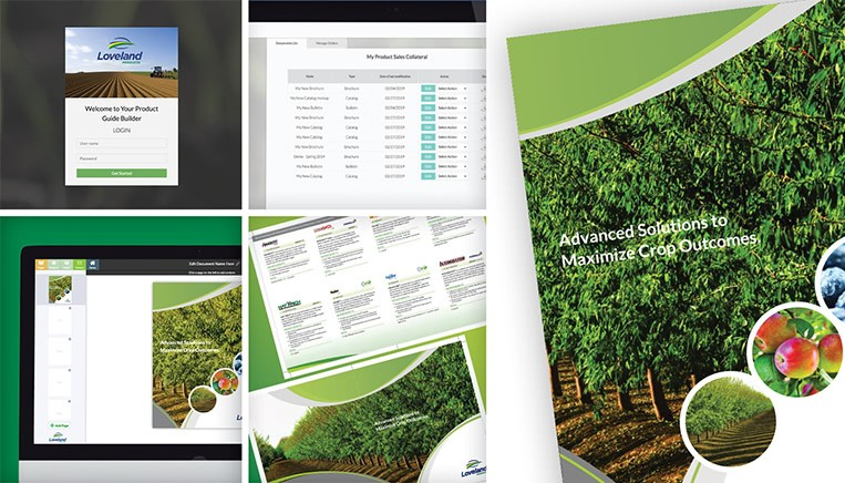 Loveland Product Marketing Collateral