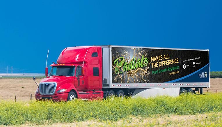 Root Radiate Truck Wrap