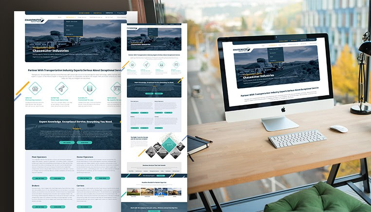 Chasewater website work example
