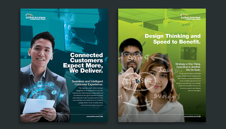 Concentrix campaign work example
