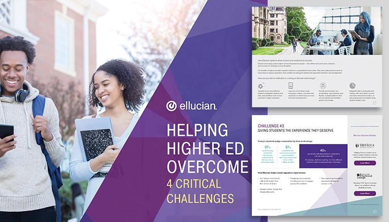 Ellucian Ebook Work Example