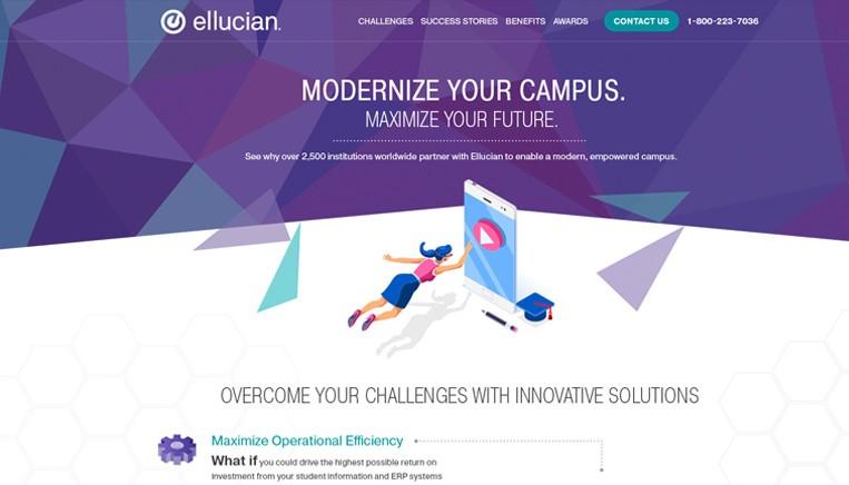 Ellucian Website Work Example 2