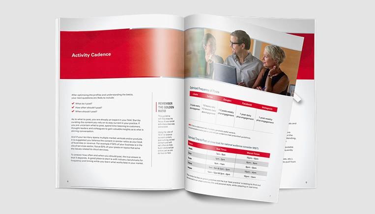 Oracle Social Playbook - Work Example