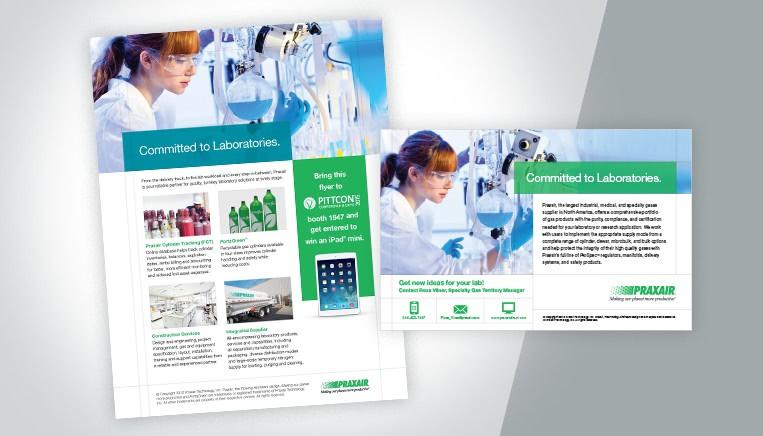 Praxair Ad Work Example
