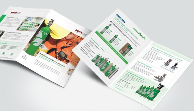 Praxair Brochure Work Example