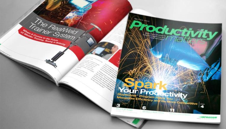 Praxair Print Ad