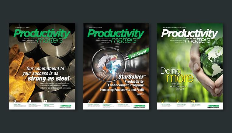 Praxair Productivity Matters Ad