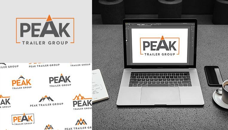 Summit peak branding work example
